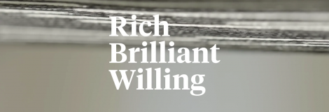 Dezeen – Rich Brilliant Willing